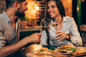 pizza e champagne